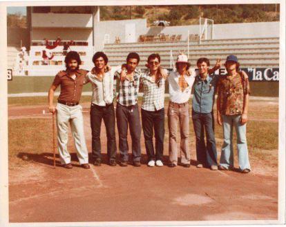 Jordi Planas, Eduard Berraondo,Toni Novel i José Mª Roman