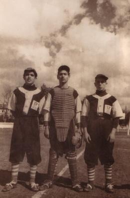 Lluis Escoda, Antonio Redón i Antonio Pueyo